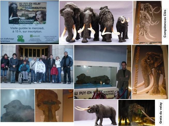 PhotoMontage de l'expo du musée Crozatier