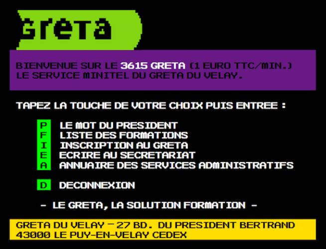 3615 code GRETA