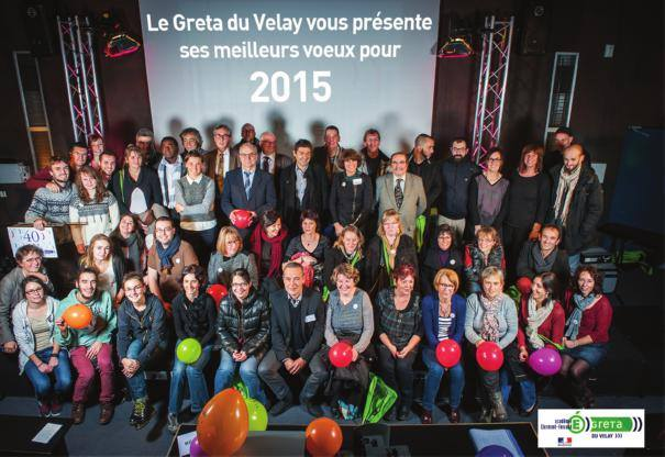 Voeux du Greta du Velay pour 2015